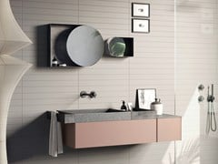 Mobile lavabo sospeso COMPACT LIVING - SET 1 - REXA DESIGN