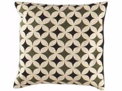 Cuscino a motivi quadrato in lana COMPAS | Cuscino quadrato - Cuscini