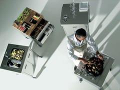 Modulo cucina freestanding in acciaio inoxCUCINA 70 - ALPES-INOX