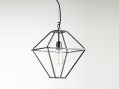 Lampada a sospensione a luce diretta in metallo CON.TRADITION XS - Con.tradition