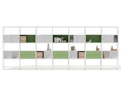 Mobile ufficio modulare in acciaioCONCERTO | Mobile ufficio modulare - BRALCO