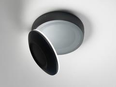 Lampada da soffitto per esterno a LED in alluminio pressofusoCONCHIGLIA | Lampada da soffitto per esterno - AILATI LIGHTS BY ZAFFERANO
