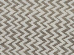 KOHRO, CONDOR Tessuto a righe in lana e poliestere