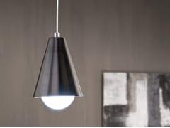 Lampada a sospensione a luce diretta in ferro CONO 1 -