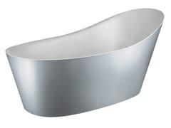 Gessi, CONO VASCHE 45923 Vasca da bagno centro stanza in Cristalplant®