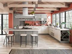 Cucina con maniglieCONTEMPO | Cucina con isola - CREO KITCHENS BY LUBE