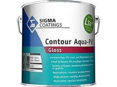 Smalto brillante all'acqua a base di resine acril-poliuretaniche,CONTOUR AQUA-PU GLOSS - SIGMA COATINGS