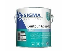 Smalto opaco all'acqua acril-poliuretanicoCONTOUR AQUA-PU MATT - SIGMA COATINGS