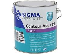 Smalto satinato all'acqua a base di speciali resine acril-poliuretanicheCONTOUR AQUA-PU SATIN - SIGMA COATINGS