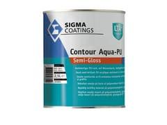 Smalto semilucido all'acqua acril-poliuretanicoCONTOUR AQUA-PU SEMI-GLOSS - SIGMA COATINGS