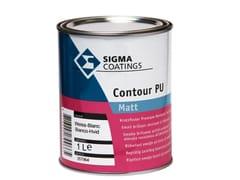 Smalto opaco alchid-poliuretanico monocomponenteCONTOUR PU MATT - SIGMA COATINGS