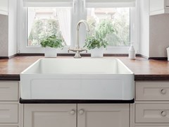 Lavello a una vasca in ceramicaCOOK - BLEU PROVENCE
