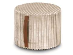 Pouf-cilindro in velluto di viscosaCOOMBA | Pouf - MHOME