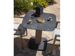 Tavolo da giardino quadrato in legnoCOPENHAGUE   Tavolo quadrato - LES JARDINS
