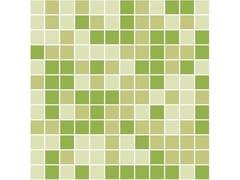 Mosaico in gres porcellanato per interni ed esterniCOPPIA - TRIS MISCELE SU RETE - CE.SI. CERAMICA DI SIRONE