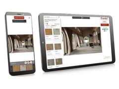 Corà, CORÀ PARQUET LIVE Simulatore online per pavimenti