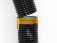 Tubo corrugato con giunzione ad elevate prestazioni di tenutaCOR+ - ITALIANA CORRUGATI