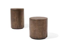 Tavolino rotondo in metalloCORALLO - GIORGETTI