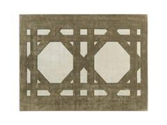 Tappeto rettangolare a motivi geometriciCORBA - MOLTENI & C.