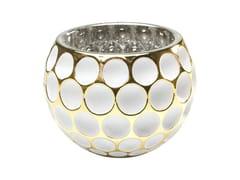 Portacandele in vetro colorato CORDOBA W&G DOTS -