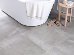 Pavimento/rivestimento in gres porcellanato effetto cemento CORE GREY - URBATEK - Grès Porcellanato
