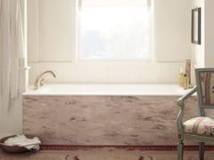 Vasca da bagno rettangolare in Corian® da incasso CORIAN® DELIGHT 8410 -
