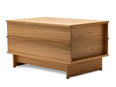Panca contenitore modulare in rovereCORRELATIONS BENCH - WE DO WOOD