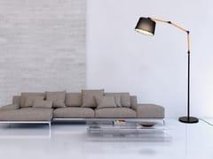 Lampada da terra a LED a luce diretta alogena in metallo in stile modernoCORSUS - ARREDIORG
