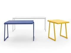 Tavolo impilabile in alluminio verniciato a polvereCORTINA.026 | Tavolo - URBANTIME BY DIEMMEBI