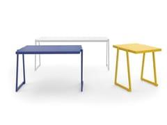 Tavolo per spazi pubblici in alluminioCORTINA 026 | Tavolo per spazi pubblici - URBANTIME