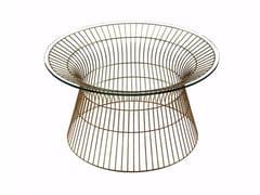 Tavolino da caffè rotondo in vetro temperatoCOSMOS COCKTAIL L - HAMILTON CONTE PARIS