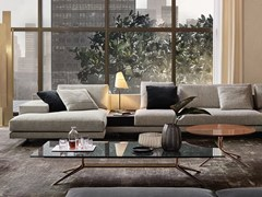 Tavolino basso rettangolare in marmo MONDRIAN | Tavolino rettangolare - Mondrian