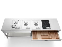 Elemento cucina cotturaCOTTURA 250 - ALPES-INOX