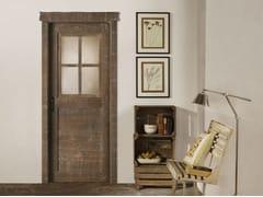 Porta in legno massello e vetro COUNTRY - Country