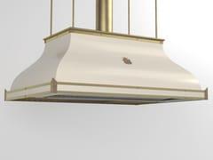 Cappa ad isola professionale in metallo verniciato con illuminazione integrataCPP004ISL | Cappa professionale - OFFICINE GULLO