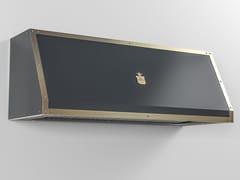Cappa professionale in metallo in stile moderno a parete con illuminazione integrataCPP017 | Cappa professionale - OFFICINE GULLO
