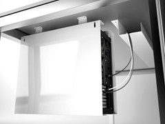 Supporto per CPU e laptop da tavolo in acciaioCPUSTC - SYSTEMTRONIC