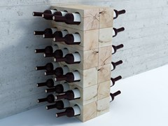 Cantinetta / portabottiglie in faggio CRAFTWAND® | Portabottiglie - MASSIV FOREST PRODUCTS