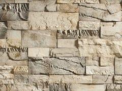 Rivestimento in pietra ricostruitaCREATIVO P34 | Bianco Conchiglia - GEOPIETRA