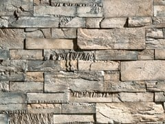 Rivestimento di facciata in pietra artificialeCREATIVO P34 - GEOPIETRA®
