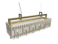 Lampada a sospensione in metallo e vetroCREK S10 - MASIERO