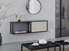 Consolle sospesa in alluminio e legno con ripianiCREO | Consolle - RAUMPLUS