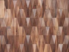 Rivestimento tridimensionale in legno per interniCREST - WONDERWALL STUDIOS