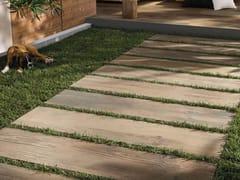 Pavimento per esterni in gres porcellanato effetto legnoCROSS WOOD 20 MM | Pavimento per esterni - PANARIA CERAMICA