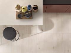 Lastra in gres porcellanato effetto legnoCROSSROAD WOOD White - ABK GROUP INDUSTRIE CERAMICHE