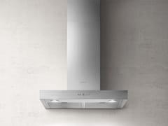 Cappa in acciaio inox a parete con illuminazione integrataCRUISE - ELICA