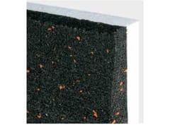 Lastre in cartongesso preaccoppiate con gomma riciclataCTG / ACOPANEL AE3 - ISOLMEC