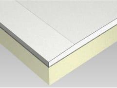 Lastre in cartongesso preaccoppiate a poliuretanoCTG / RF3 - ISOLMEC