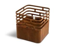 Barbecue / Ciotola per fuoco in acciaio Corten™CUBE RUSTY - HÖFATS