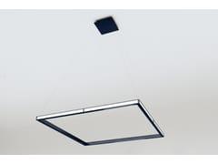 Lampada a sospensione a LED a luce indiretta in alluminioCUBE - OLEANT